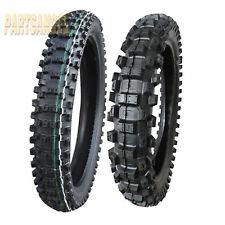 New Dunlop 80//100-21 /& 120//80-19 Geomax MX53 Tire Set For CRF450R//KX450F//YZ450F