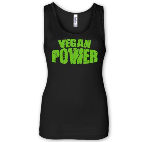 Vegan power-tank top-tierrecht éco bio punk straight edge Meat Free bien-être animal