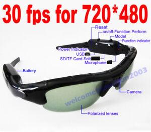 e1ef1fba09 Gafas de sol Espia Camara Mini Video Sunglasses Spy Cam - España - Gafas de  sol