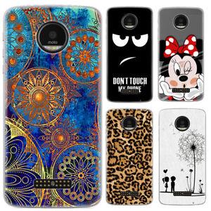 Handy-Huelle-fuer-Motorola-Smartphone-New-Disney-Comic-Weiche-TPU-Schale-Cover
