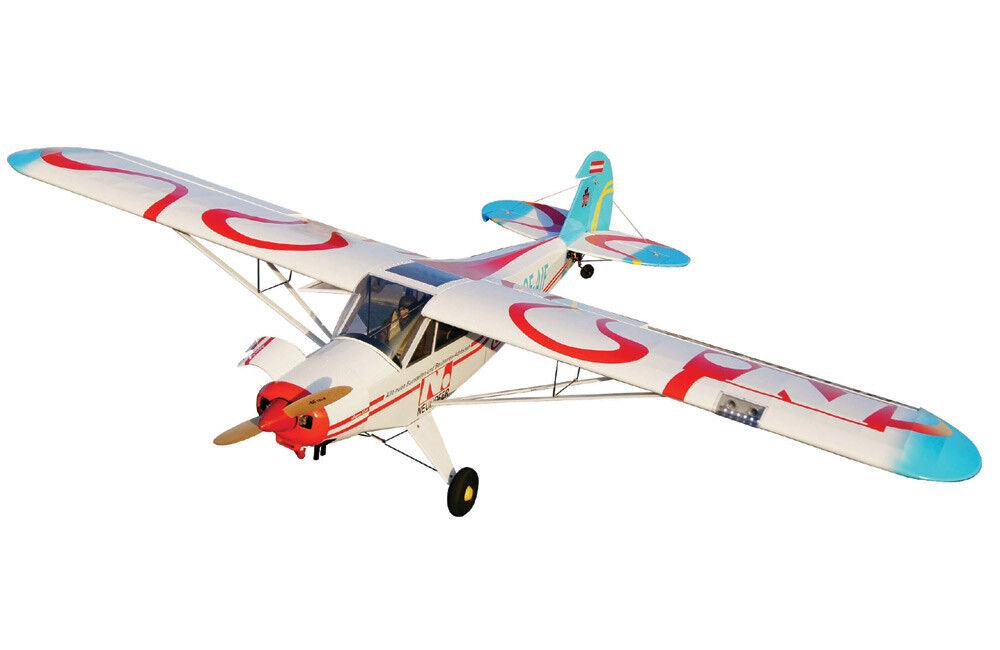 VQ Models Piper PA-18 Super Cub 106.6  Wingspan (30-40cc) (EP GP) ARF