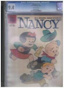 Dell-Comics-Nancy-Sluggo-162-CGC-Graded-9-4-1959