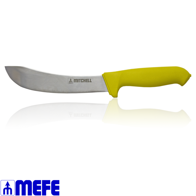 "7"" Skinning Knife - Yellow Double Soft Grip Handle (32182221)"