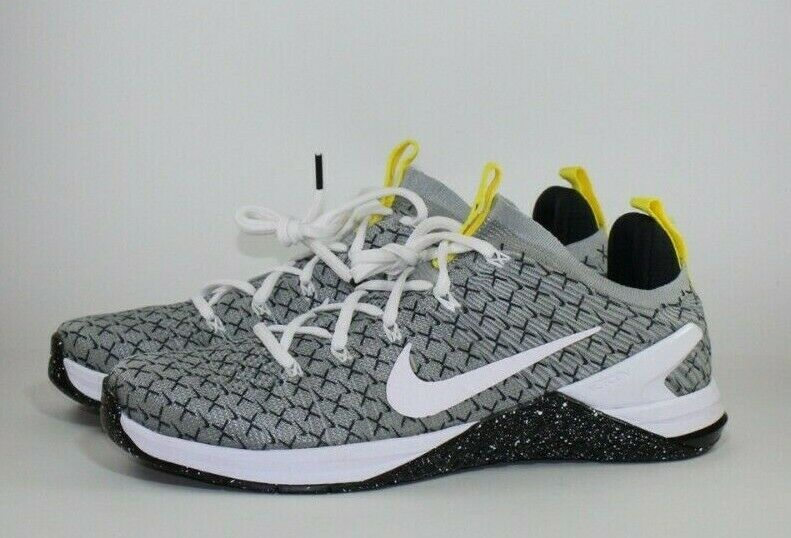 Nike Metcon DSX Flyknit 2 X Running Training shoes Black White AO2807-017 Size 12