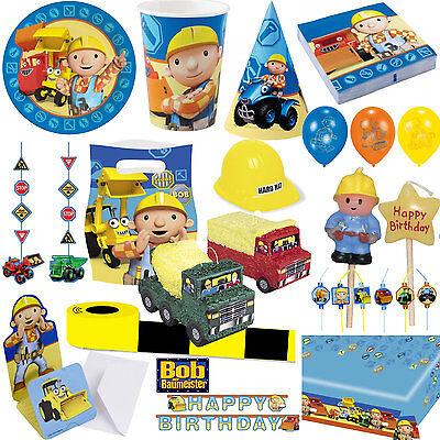 *Bob der Baumeister* Alles zum Kindergeburtstag Partyset Builder - Top Auswahl 2