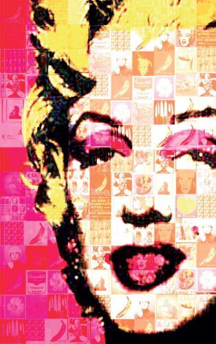 3 dimensions,papier mat ou papier photo Affiche poster marylin monroepop réf13