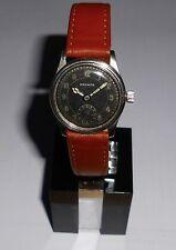 Caballeros vieja ⌚ pronto acero inoxidable 40er vintage funcionan Swiss art deco WW 2 reloj