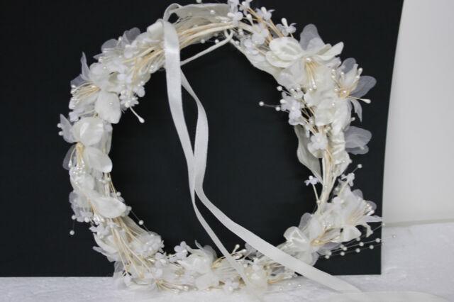 YYCRAFT Pack of 30 Chiffon Flower 1.5 Hair Flower Wedding Bride Headband-Coral