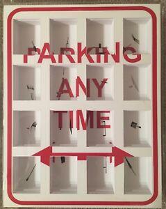 Marco-Maggi-039-Parking-Any-Time-039-2010-Cuts-on-Paper-Plexiglass-Art-Decor-NYC