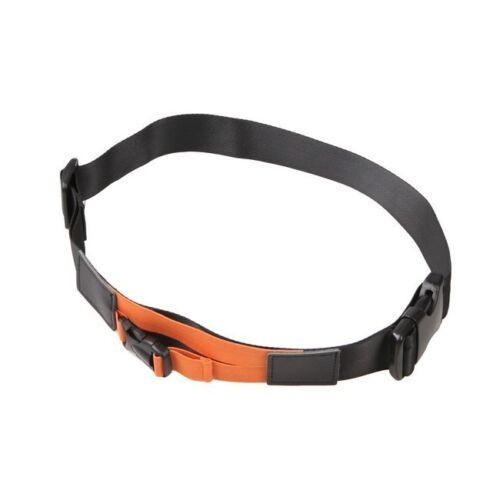 Negro naranja cintura de liberación rápida hebilla cinturón correa portadora fijo para cámara réflex digital