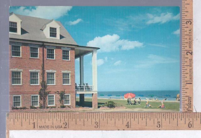 1960s Unused Post Card Chesterfield Inn Hotel Myrtle Beach Sc