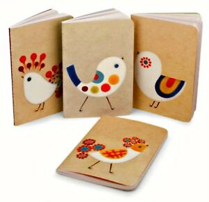Xenia-Taler-Mini-Journal-Set-of-4-Fancy-Chicks-Notebooks-Barnes-amp-Noble-6-x-4-in