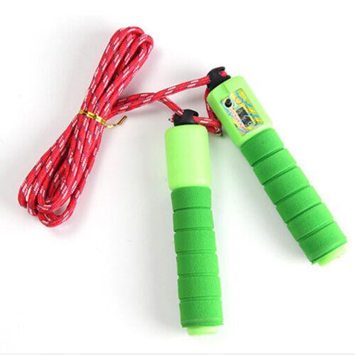 Seil überspringen Plastik 2 Aktivität Erwachsener Springen Seil Langlebig