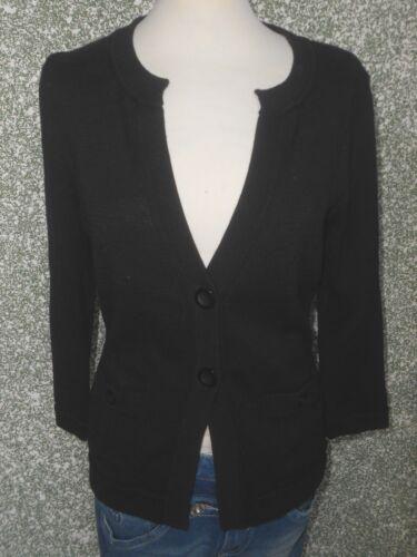 301 cardigan 4 dames à tricoté S répéter pour Veste de noir q8wO87