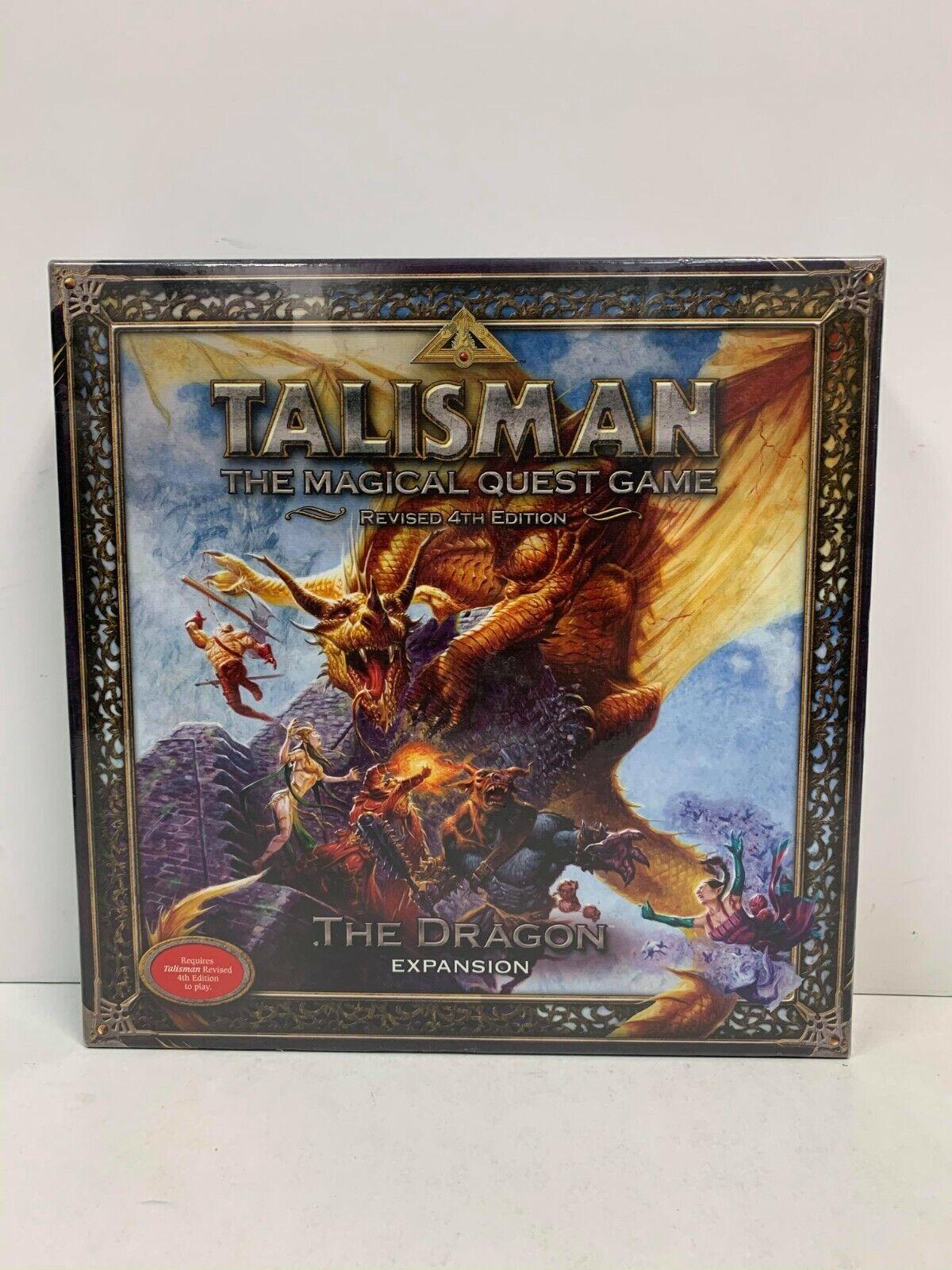 Talismán Mágico Quest Juego 4th edición revisada el dragón Expansión Juego De Mesa