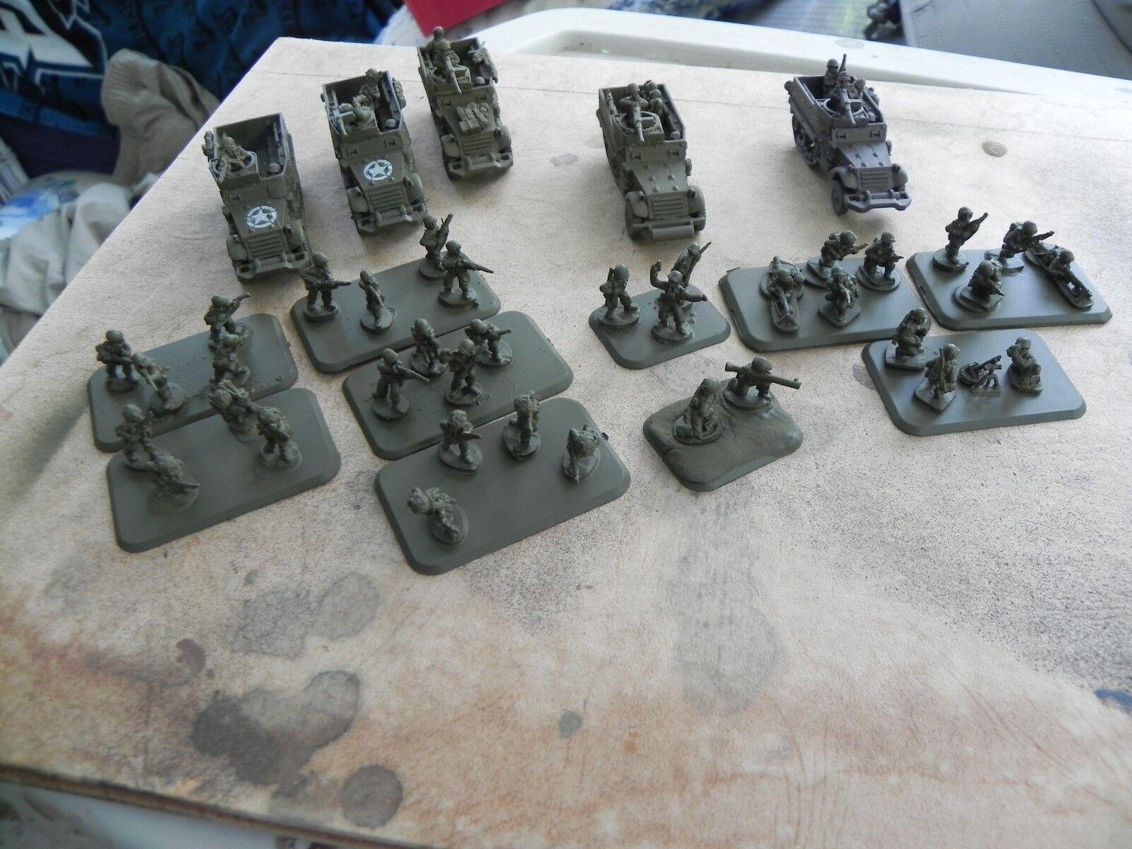 Flames of war   US  Armorosso Rifle Platoon