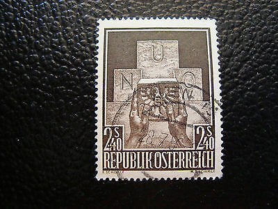 a5 To Ensure A Like-New Appearance Indefinably Austria Stamp Yvert And Tellier N° 858 Obl e Stamp Austria