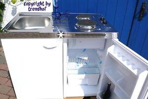 Miniküche 100 Cm Mit Kühlschrank : SinglekÜche miniküche 100cm pantryküche büro küche kühlschrank spüle
