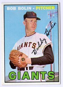 1967-Topps-252-Bob-Bolin-San-Francisco-Giants-Card