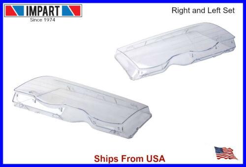 63 12 8 380 189// 190 BMW Headlight Lens Left /& Right Side e46 99-01 Sedan