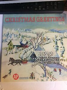 CHRISTMAS-GREETINGS-A-amp-P-VOL-2-VARIOUS-ARTISTS-COLUMBIA-SPECIAL-PRODUCTS