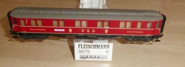 Fleischmann 5679 K Schnellzug-Schlafwagen WL4ü der DSG der DB Epoche 3 in OVP