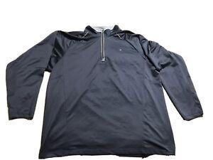 Champion-Men-039-s-Vapor-Long-Sleeve-Quarter-Zip-Pullover-Size-2XL-Activewear-Top