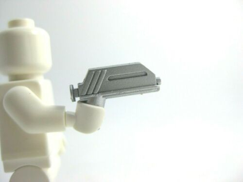 Custom Silver DC-17 BLASTER For Minifigs NEW Star Wars CAC