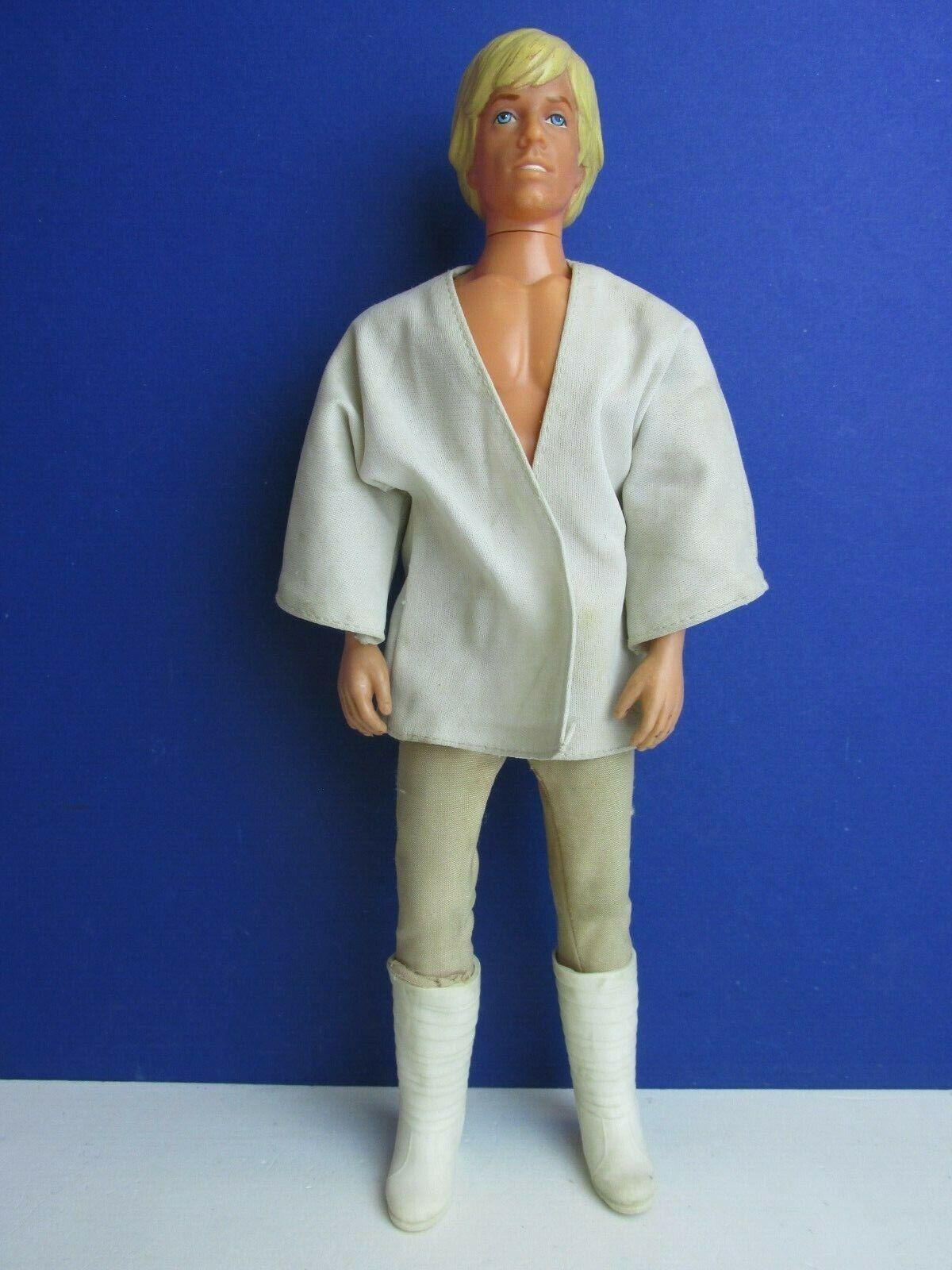 STAR WARS Vintage Luke Skywalker 12  poupée figurine ORIGINAL 1978 KENNER 03i
