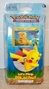 Let/'s Play Theme Deck New Factory Sealed LET/'S PLAY PIKACHU Pokemon Cards