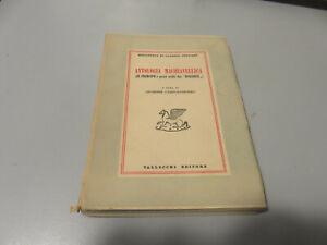 Giuseppe Camposanpiero - Antologia Machiavellica Vallecchi Editorial 1949