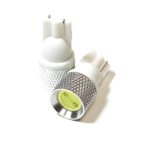 Fiat Sedici White LED Superlux Side Light Beam Bulbs Pair Upgrade