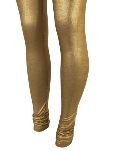 Gold Indian Shiny Women Legging Bollywood Dance Pants 3XL 12 /& UP Fits USA