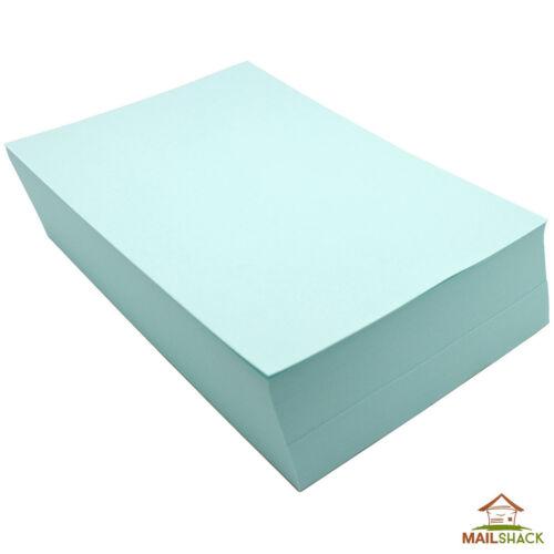 500 Sheets A5 BLUE Coloured Paper 80gsm Colour Craft Printer Copier Inkjet Reams