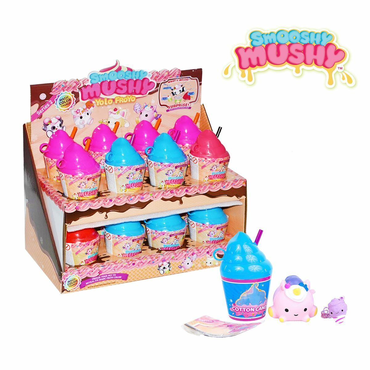 New 1 3 5 Or 10 Smooshy Mushy Yolo Froyo Series 2 Surprise Pet & Bestie Official