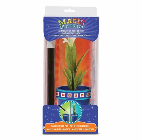 Magic in a Snap Flower Pot and Wand 14055 Melissa and Doug