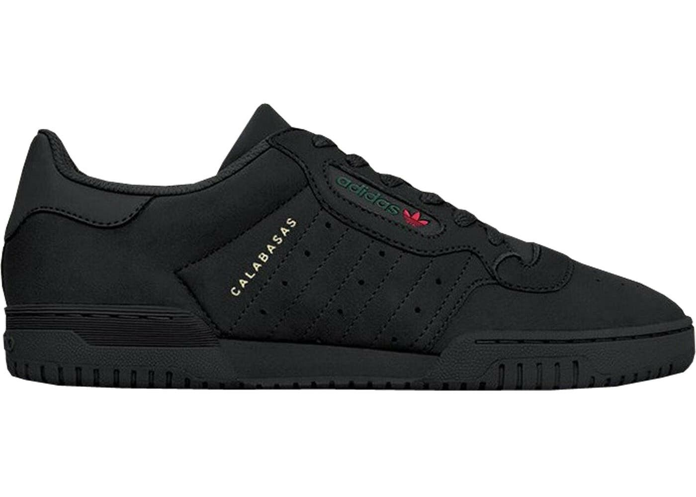 MENS ADIDAS YEEZY POWERPHASE POWERPHASE POWERPHASE CALABASAS CORE BLACK SIZE 100% AUTH. 5f5290