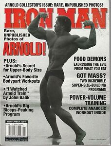 NOV-2004-IRON-MAN-vintage-body-building-magazine-ARNOLD-SCHWARZENEGGER