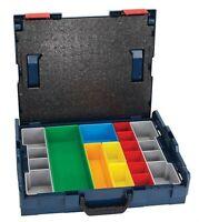 Bosch L-boxx-1a Stackable Storage Carrying Case W/13-piece Insert Set