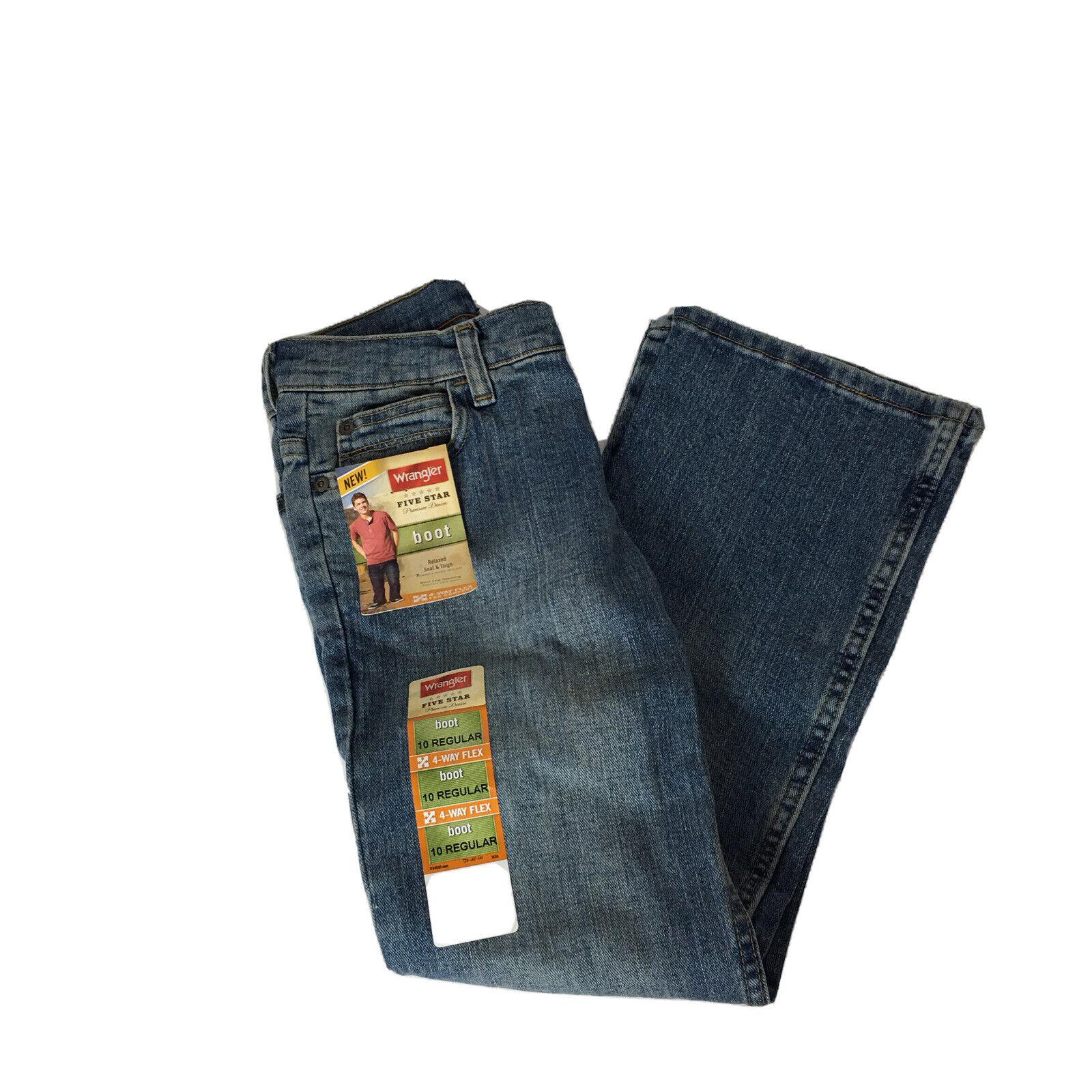 Reg boot cut Denim Blue Jeans NWT