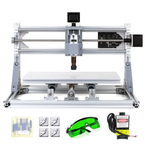 CNC3018 CNC Mini Laer Macchina Incisione Intaglio Incisore 300x180x45mm kit O5X5