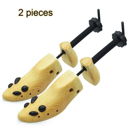 Shoe Stretcher Boot Mens Women Size Medium Sneakers Expander Widener Wood 2 Pcs