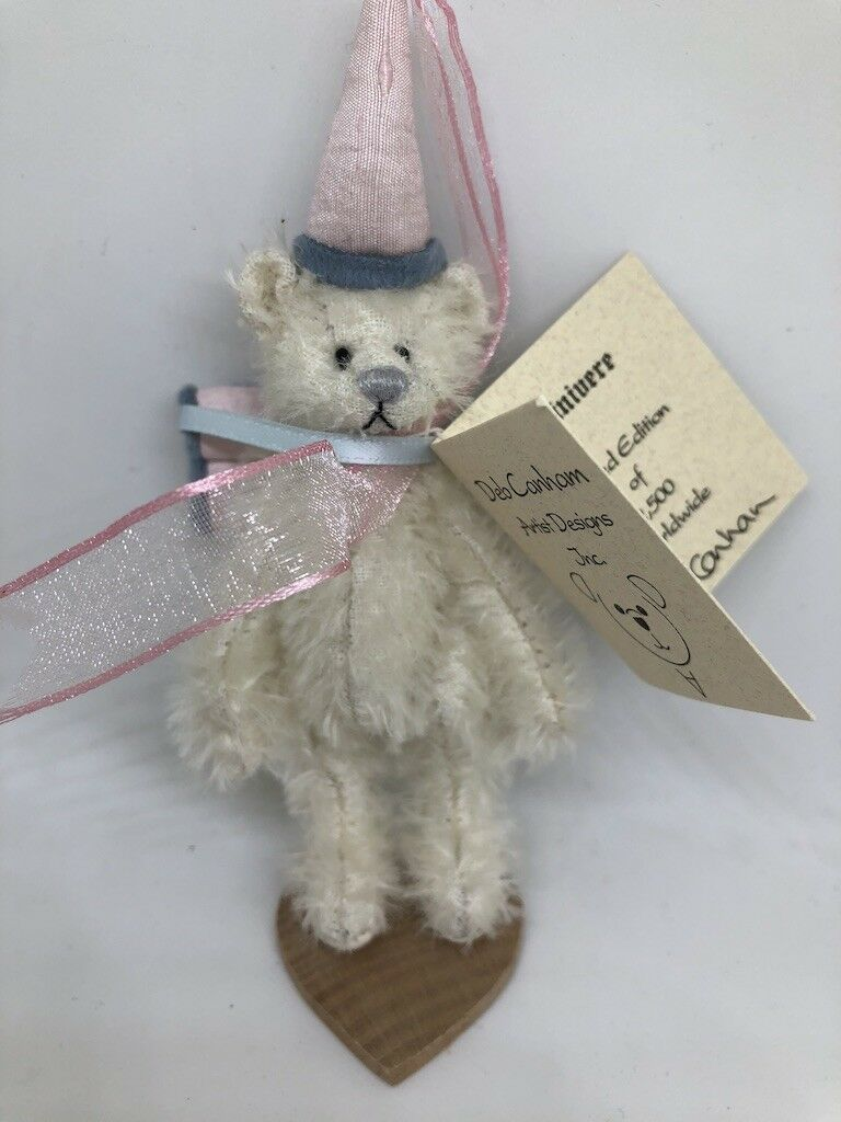 'Guinivere' Deb Canham Handmade Collectable Miniature Bear
