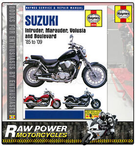 suzuki boulevard m50 805cc 2005 2009 haynes manual 2618 ebay rh ebay co uk 2009 suzuki c50 service manual 2009 Suzuki M50 Fairing