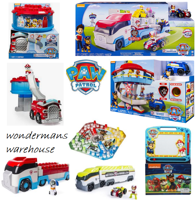 Paw Patrol Toys/Playsets - Paw Patroller/Lookout Playset/Ionix & More -Brand New