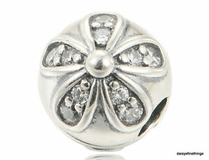 3a38f6f17 Image is loading NEW-TAGS-AUTHENTIC-PANDORA-SILVER-CHARM-DAZZLING-DAISIES-