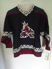 NWT Old Stock KOHO NHL Phoenix Coyotes Hockey Jersey Stitched Lettering Y L/XL