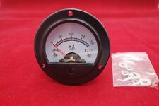 Dc 0 200ma Round Analog Ammeter Panel Current Dia 664mm Dh52 Direct Connect