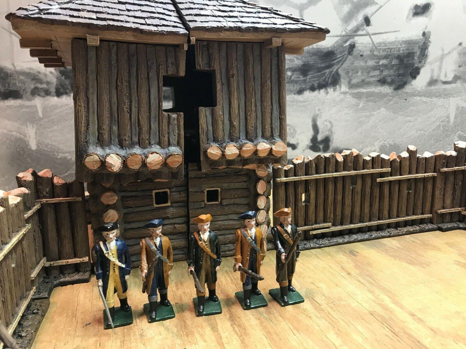 Marlbguldugh – Colonial Militia Försvarande Bunker Hill - Amerikansk revolution