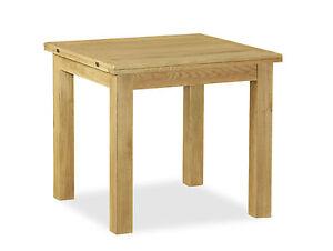 Image Is Loading Lanner Oak Square Extending Table Waxed Oak Square